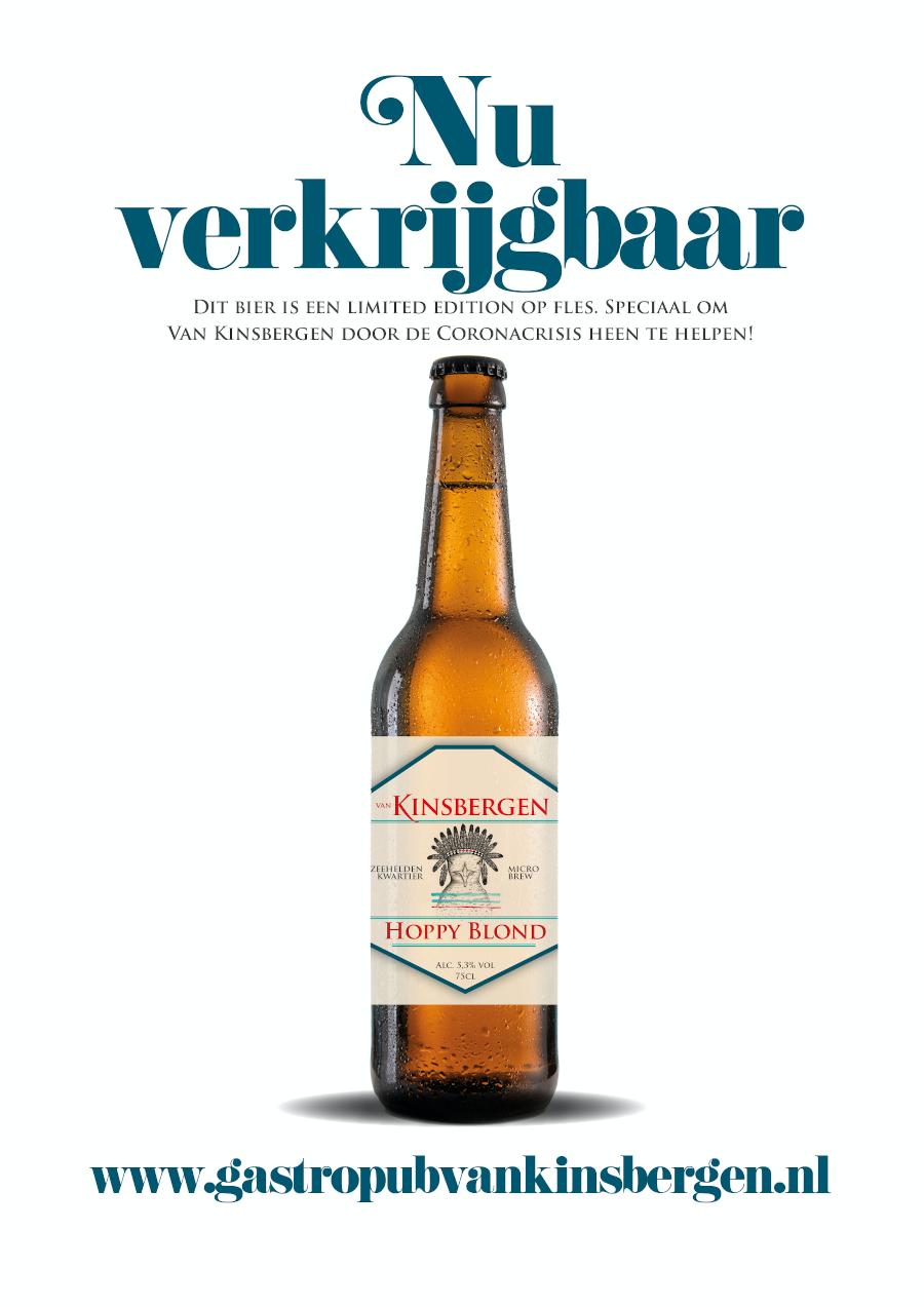 Nu verkrijgbaar: Hoppy blond bij Van Kinsbergen